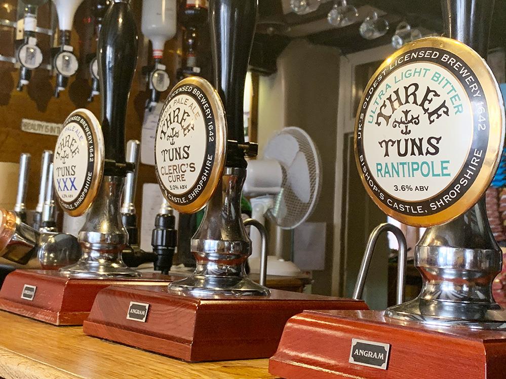 Three Tuns Pub and brewery